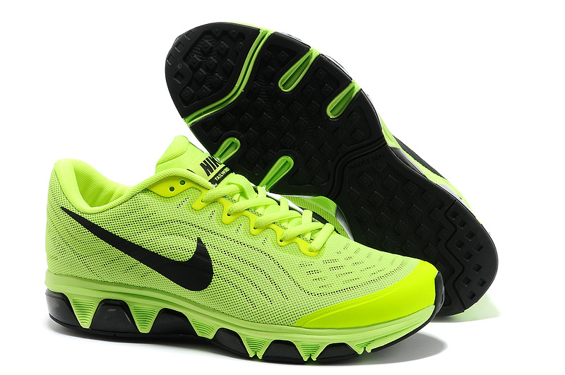 Nike Air Max 2015 Cushion Fluorescent Green Black Shoes