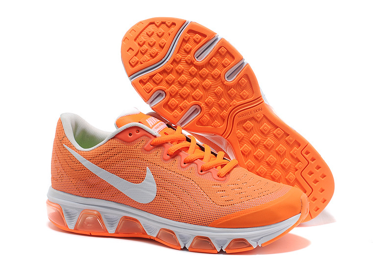 Nike Air Max 2015 Cushion Orange White Shoes