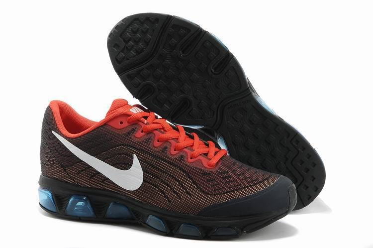 Nike Air Max 2015 Cushion Wine Red Black Orange Shoes