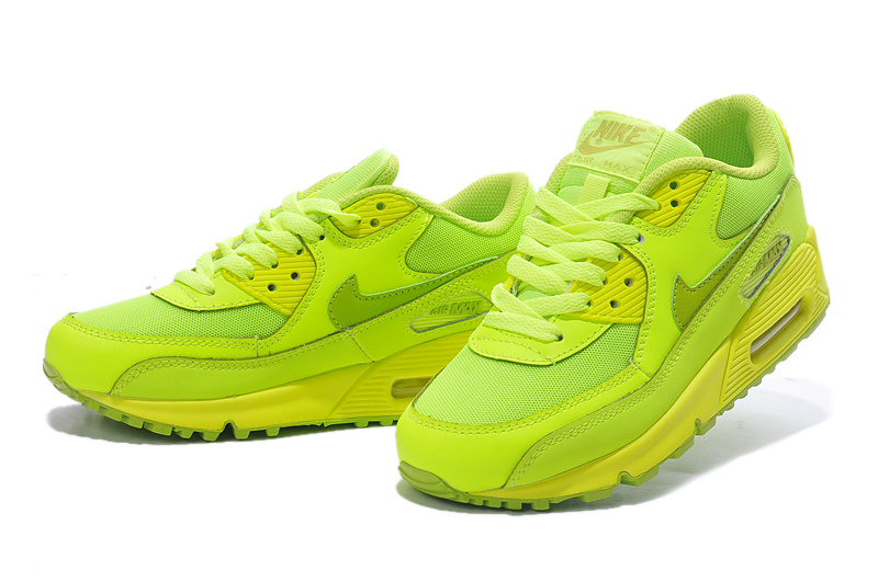 Nike Air Max 90 307793 700 Fluorescent Green Lovers Shoes
