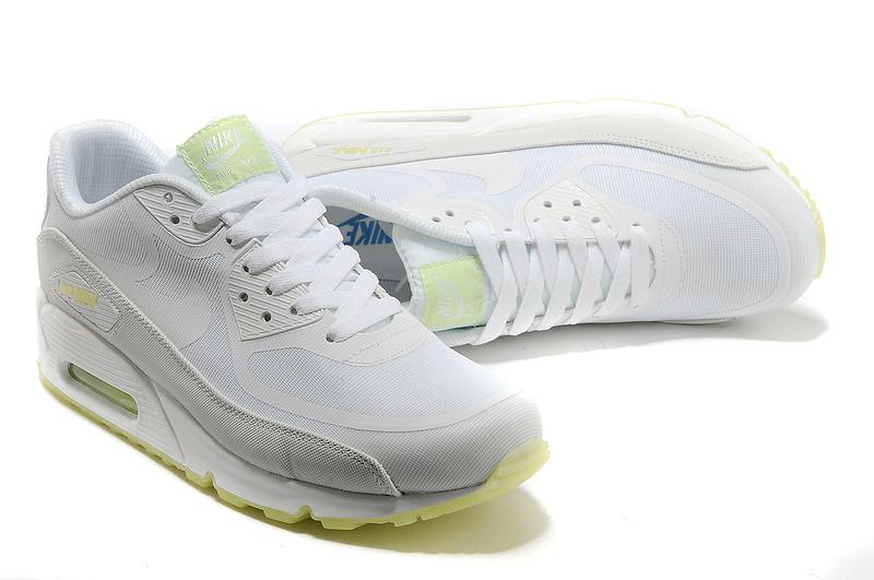 Nike Air Max 90 All White Shoes