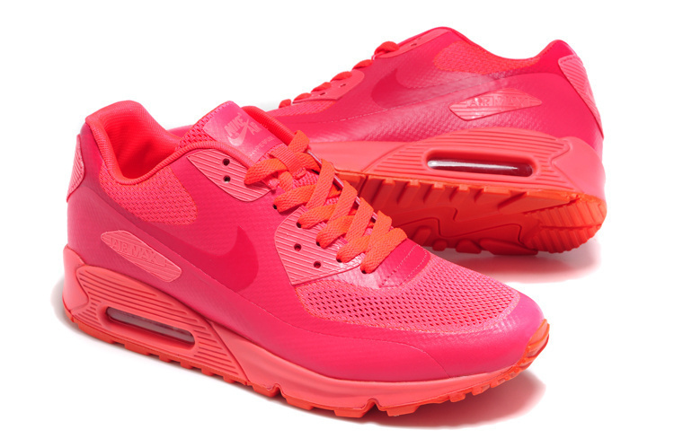 Nike Air Max 90 Mesh All Red Shoes