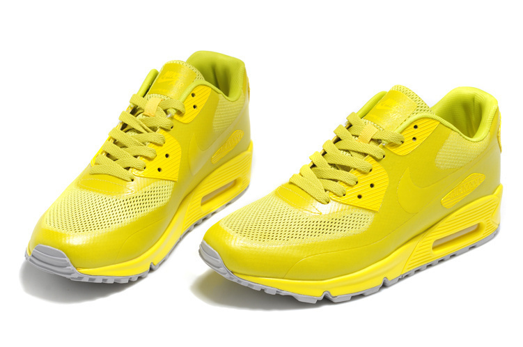 Nike Air Max 90 Mesh All Yellow Shoes