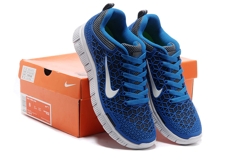 Women Nike Free 6.0 Mesh Blue White Shoes
