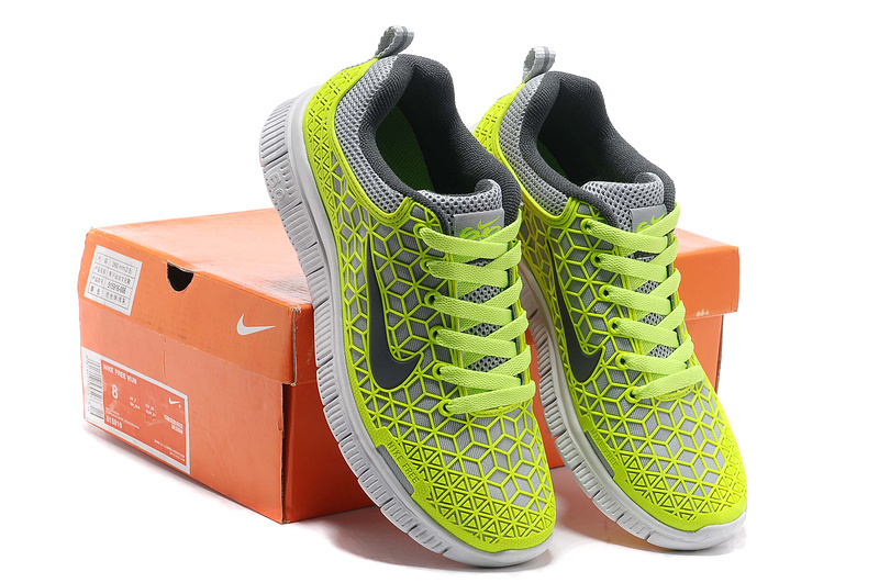 Women Nike Free 6.0 Mesh Fluorescent Green Shoes