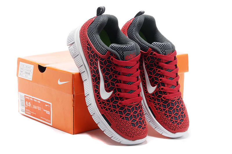 Women Nike Free 6.0 Mesh Red White Shoes