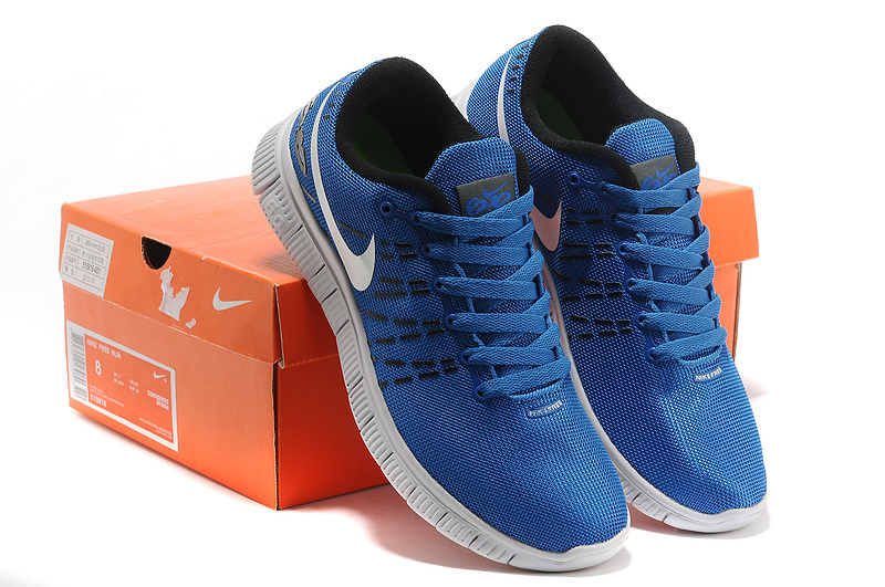 Women Nike Free 6.0 Mesh V2 Blue White Shoes