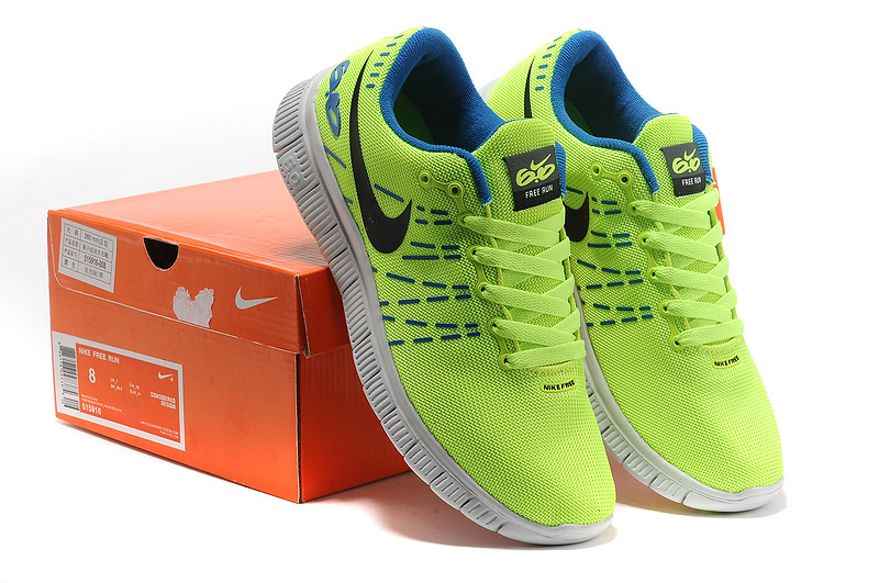 Women Nike Free 6.0 Mesh V2 Fluorescent Green Shoes
