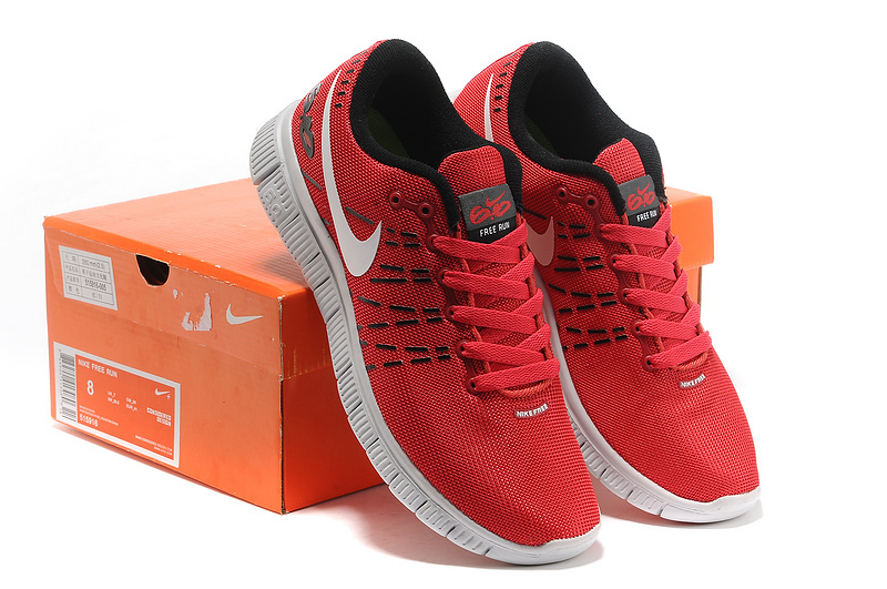 Nike Free 6.0 V2 Red White Shoes