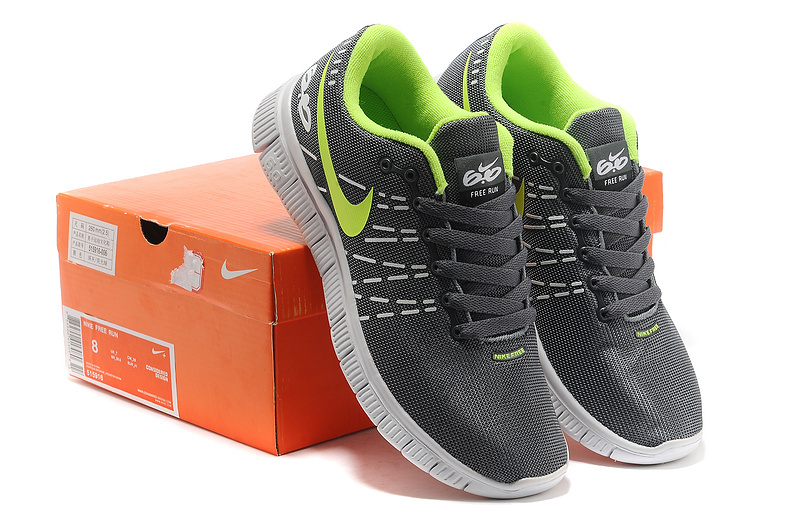 Breathable Nike Free 6.0 V2 Grey Green Shoes