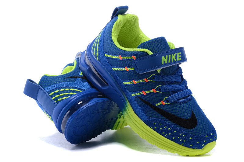 Kid Nike Air Max 2016 Blue Fluorscent Shoes