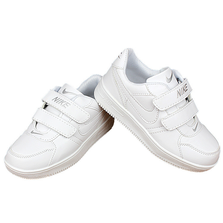Nike Air Force All White Shoes For Kid