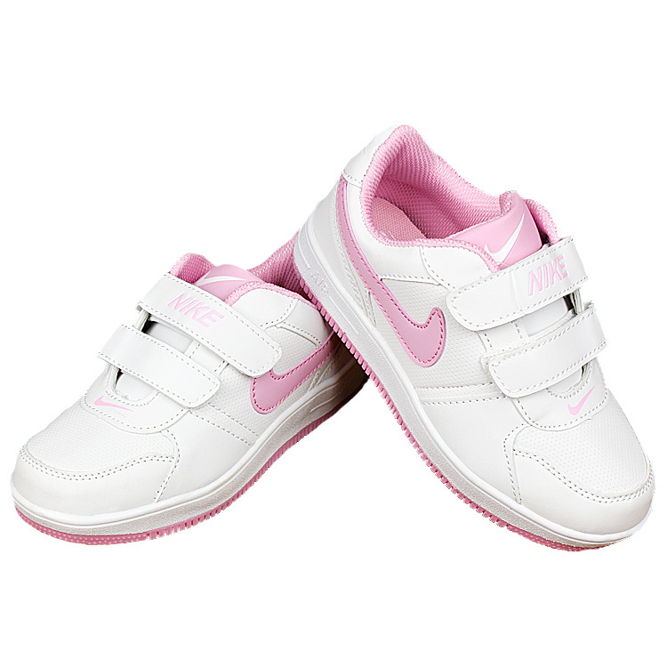 Nike Air Force White Pink Shoes For Kid