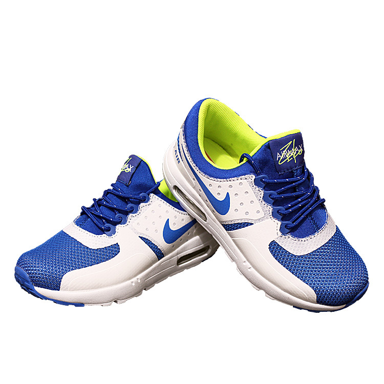 Nike Air Max Zero 87 II Blue White Shoes For Kid