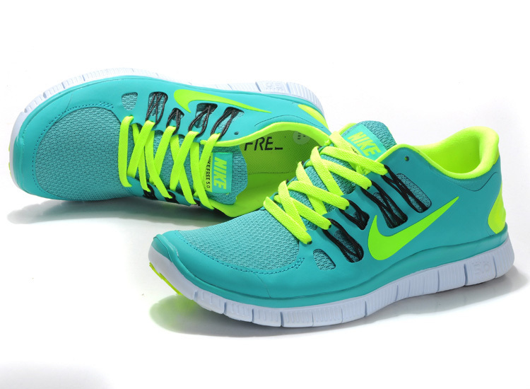 New Nike Free 5.0 Green Running Shoes