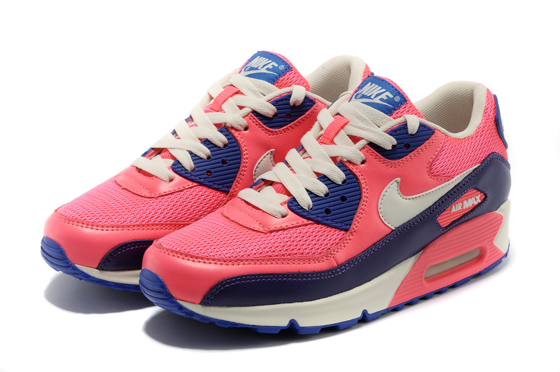 Nike Air Max 90 Colorful Red Blue White Shoes