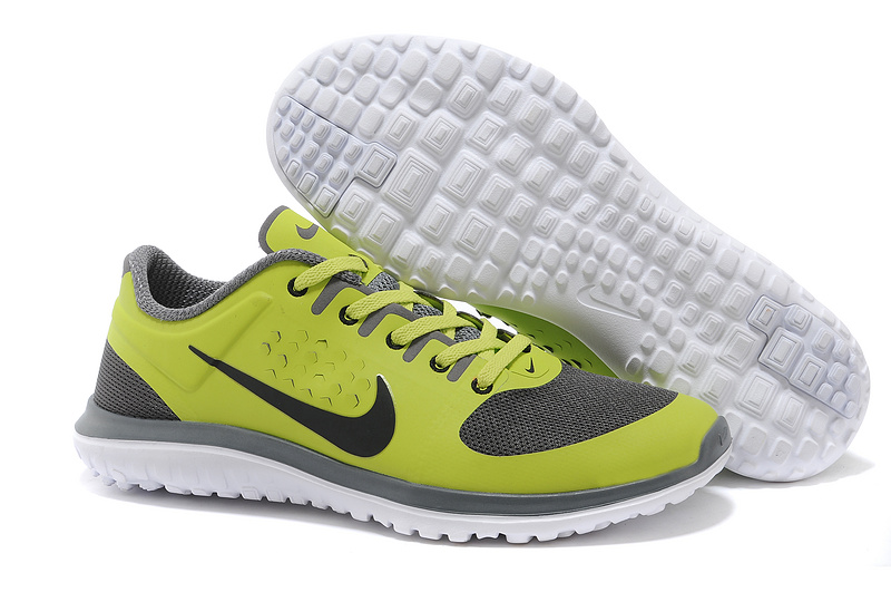 Nike FS Lite Run Yellow Grey