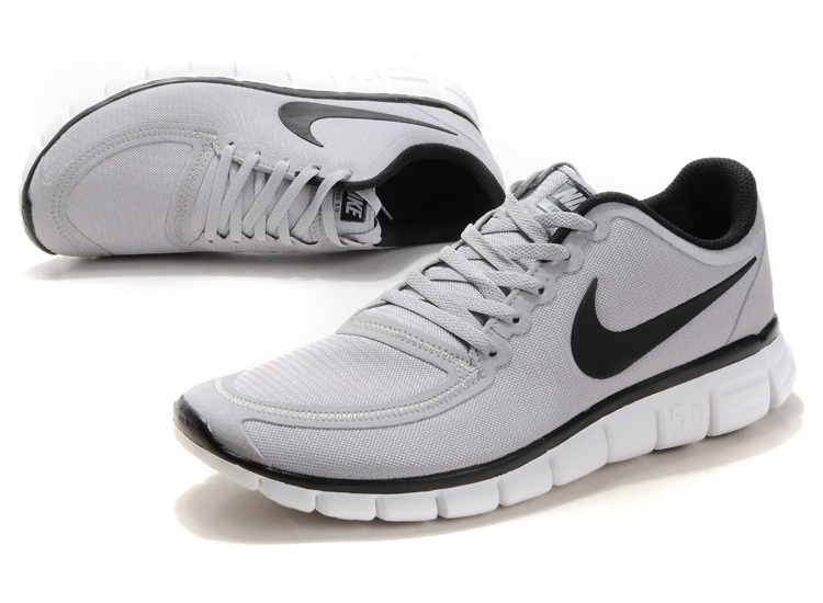 nike free run 5.0 mens white