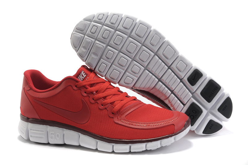 Nike Free Run 5.0 V4 Red White Shoes
