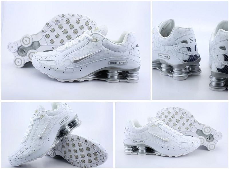 Nike Shox Monster Shoes All White