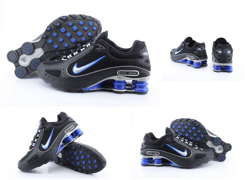 Nike Shox Monster Shoes Black Blue