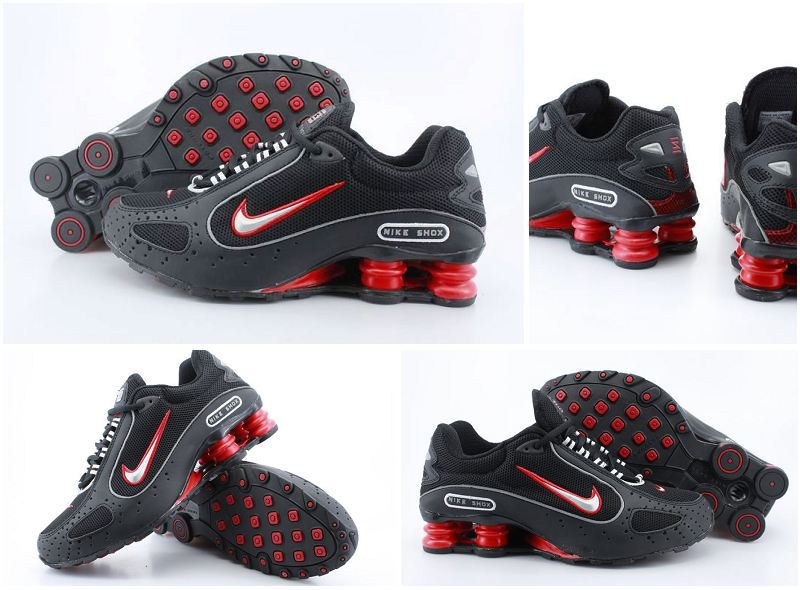 Nike Shox Monster Shoes Black Red