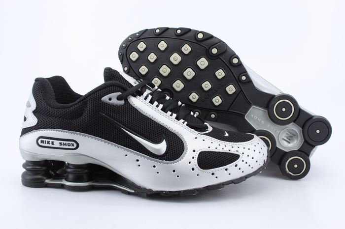 Nike Shox Monster Shoes Black Silver