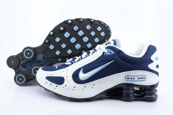 Nike Shox Monster Shoes Blue White Swoosh