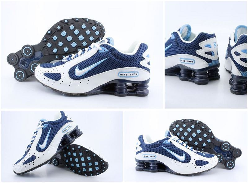 Nike Shox Monster Shoes Blue White