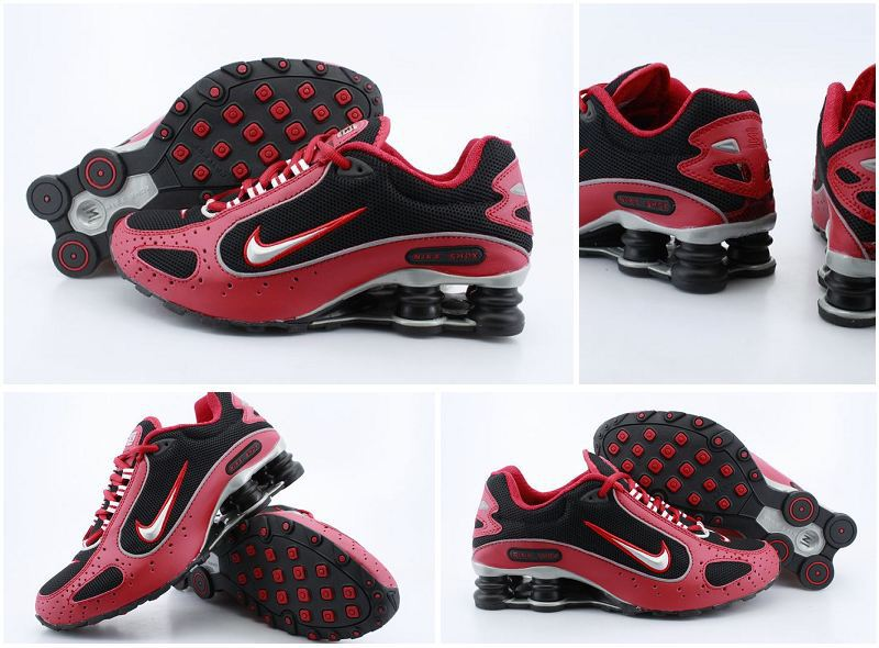 Nike Shox Monster Shoes Red Black
