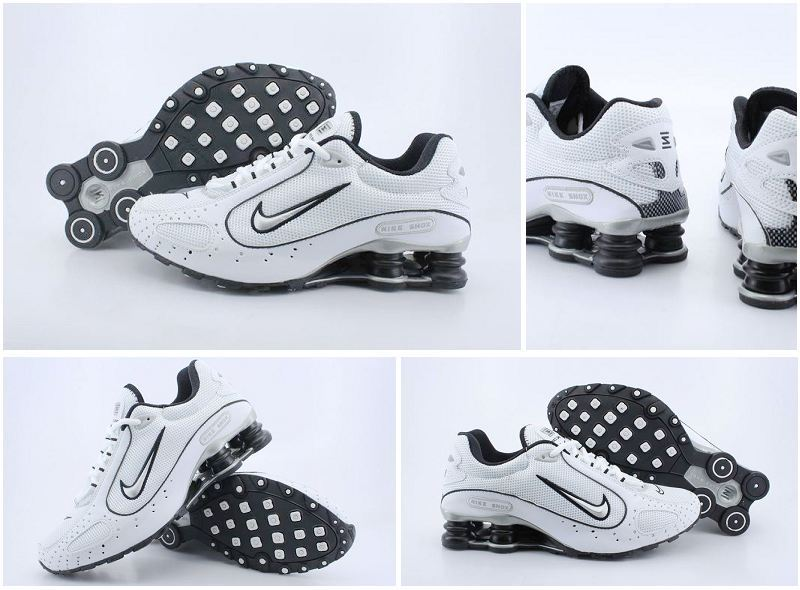 Nike Shox Monster Shoes White Black