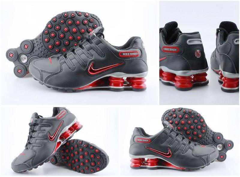 timeless design 5284f a4eb5 50% off nike shox nz shoes black red 601a9 7d0d9