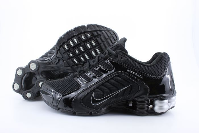Nike Shox R5 Shoes All Black