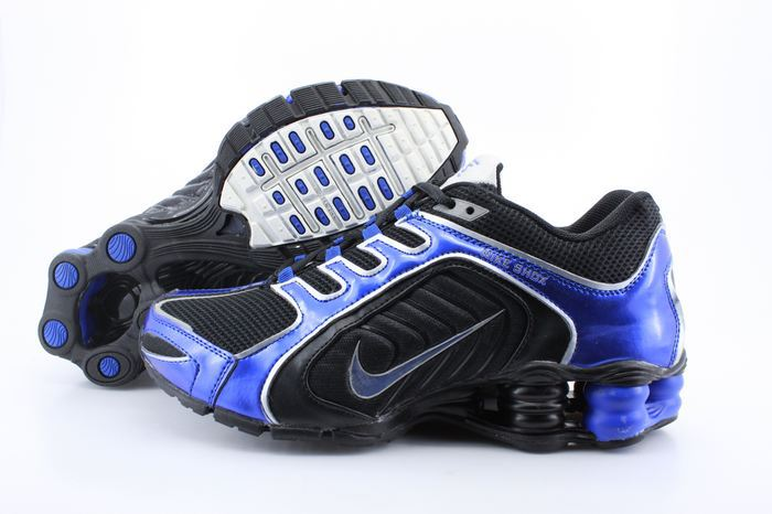 Nike Shox R5 Shoes Black Blue