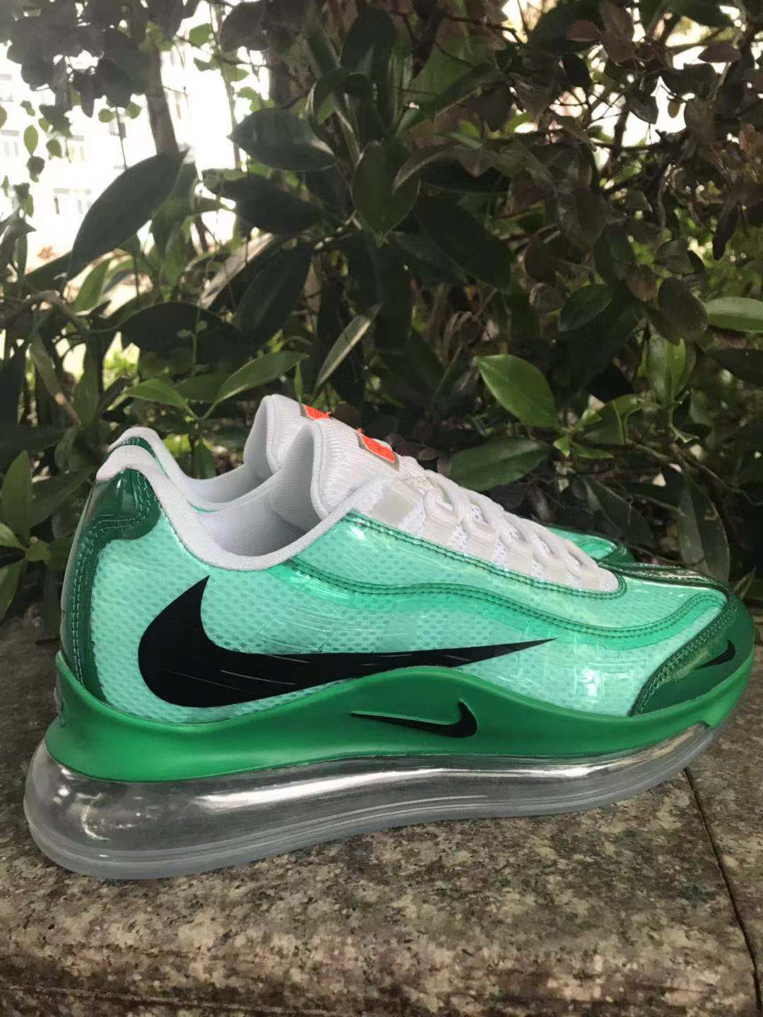 2020 Women Nike Air Max 720 95 Green Black