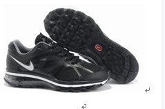 Nike Air Max 2012 Black White Shoes