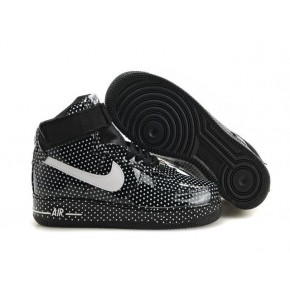 New Nike Air Force 1 High Black Shoes