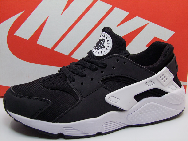 New Nike Air Huarache 1 Black White Shoes