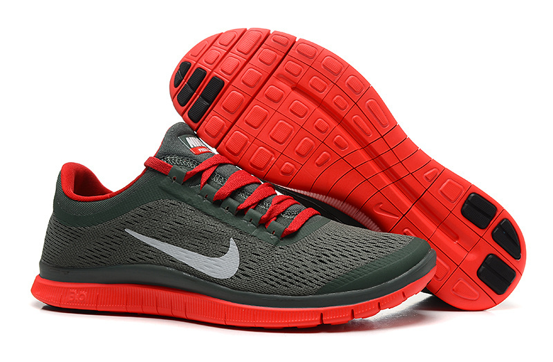 New Nike Free 3.0 V5 Black Red Running Shoes