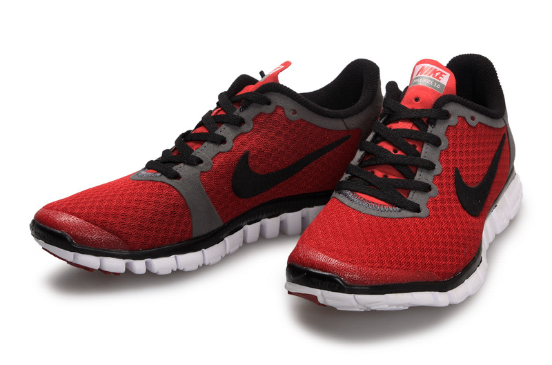 Latest Nike Free Run 3.0 Wine Red Black Shoes