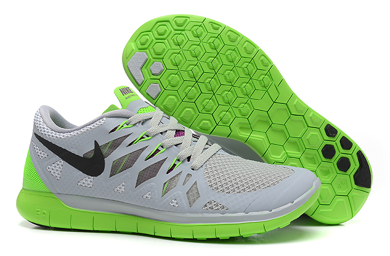 Nike Free Run 5.0 Grey Green