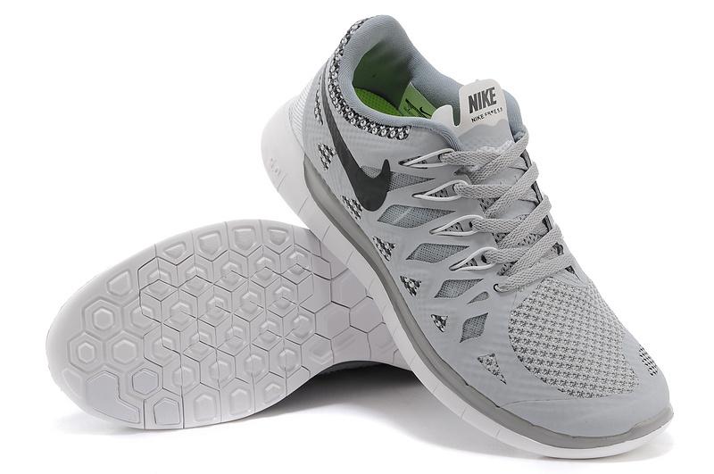 New Nike Free Run 5.0 Grey Shoes