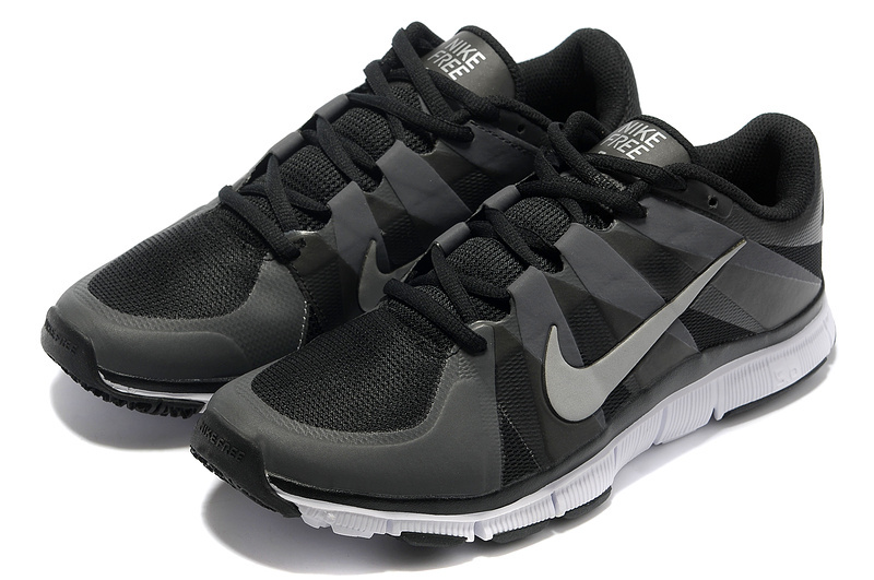 New Nike Free 5.0 Black Grey White Shoes