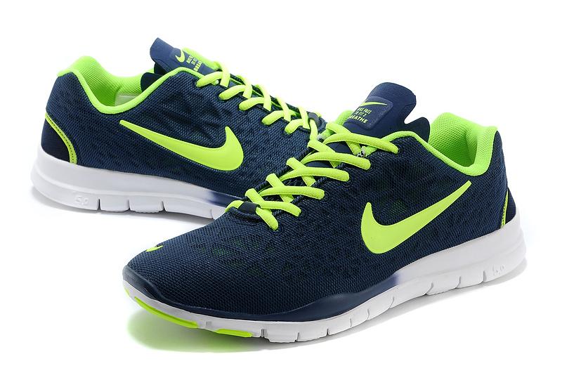New Nike Free Run 5.0 Blue Green Shoes