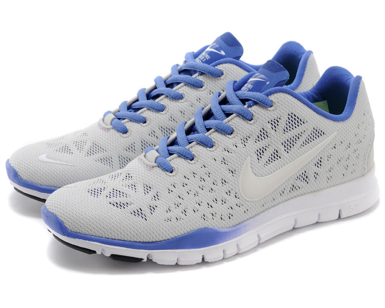 New Women Nike Free Run 5.0 Grey Blue