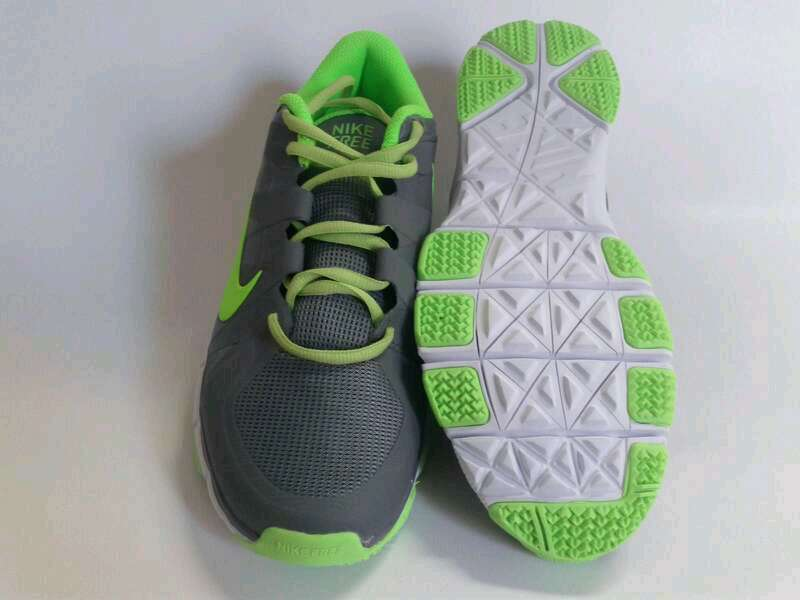 New Nike Free 5.0 Grey Green Shoes