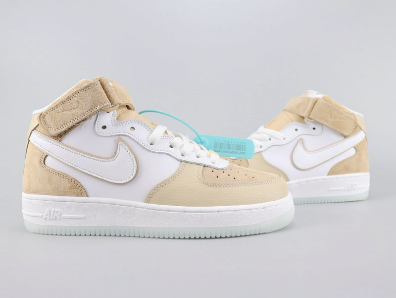 2020 Nike Air Force 1'07 Brown White For Women