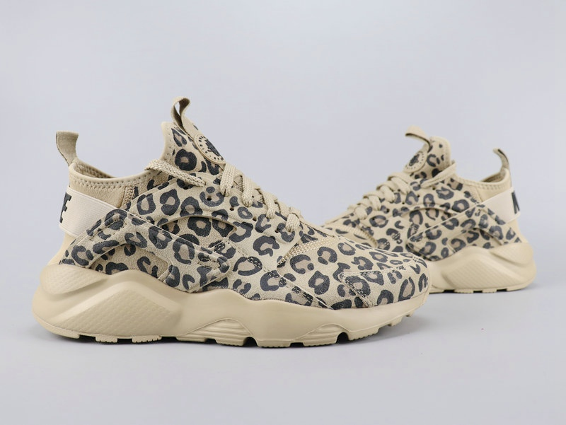 2020 Nike Air Huarach Run Ultra Leopard Print For Women