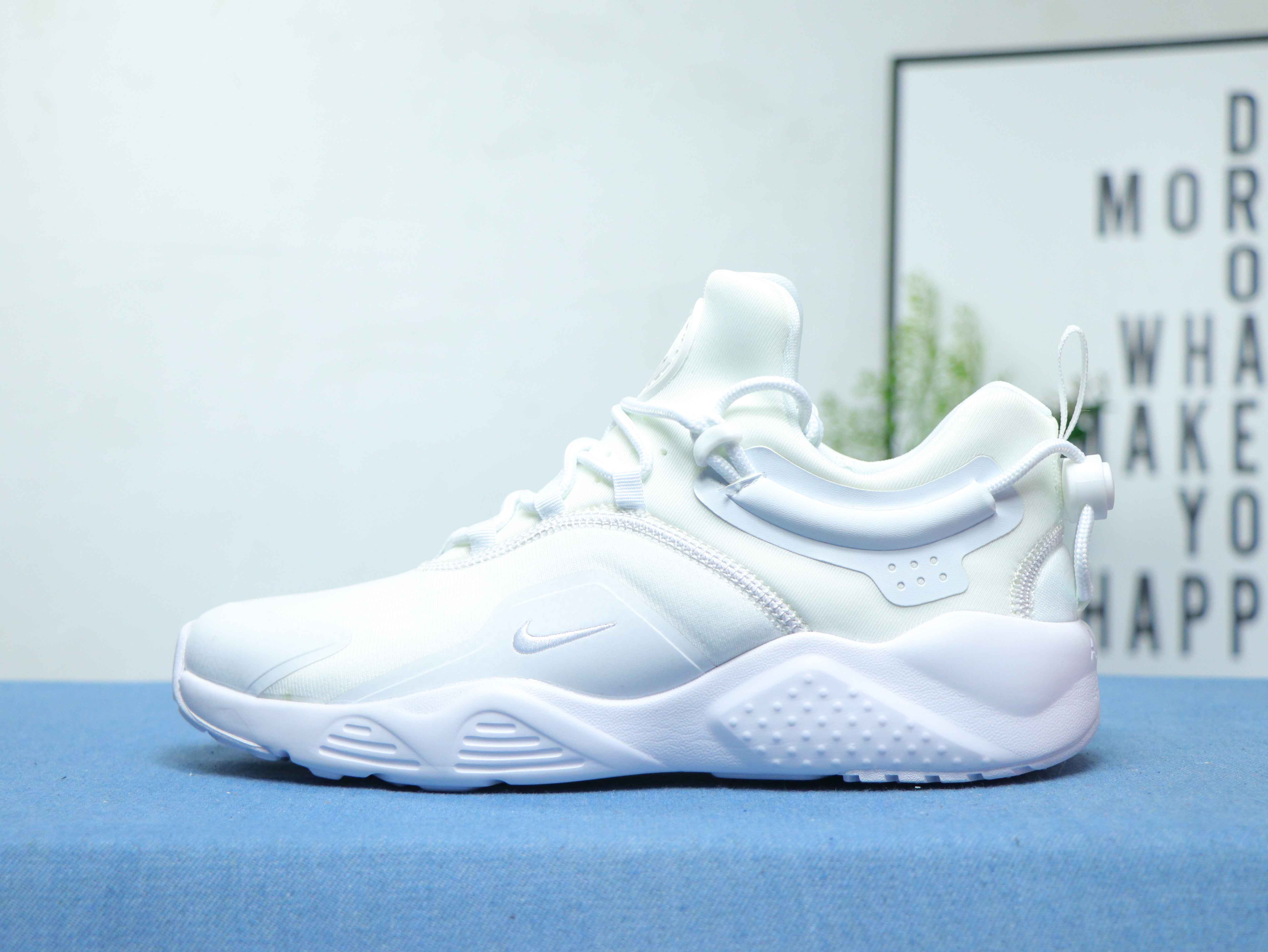 2020 Women Nike Air Huarache VIII All White