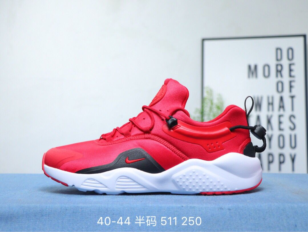 2020 Women Nike Air Huarache VIII Red Black White